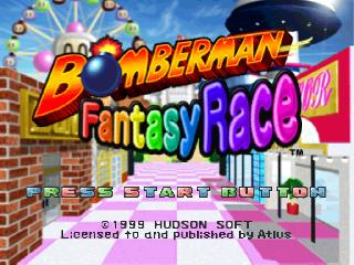 Screenshot Thumbnail / Media File 1 for Bomberman Fantasy Race [U]